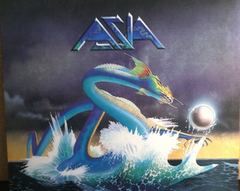 Asia Rock Record LP