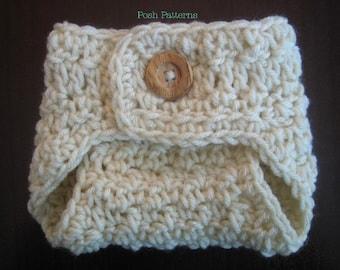 Crochet Pattern - Baby Crochet Pattern - Diaper Cover Pattern - Crochet Pattern Baby - Crochet Patterns to Print - Newborn - PDF 285