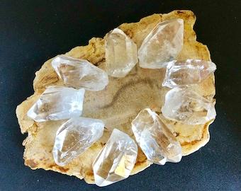 Clear Quartz Points   Clear Quartz Crystal Points   Polished Clear Quartz Crystal   Clear Quartz Towers   Crystal Healing & Crystal Grids