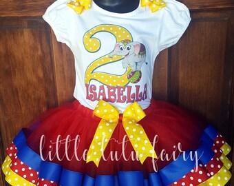 carnval birthday tutu outfit circouse birthday tutu