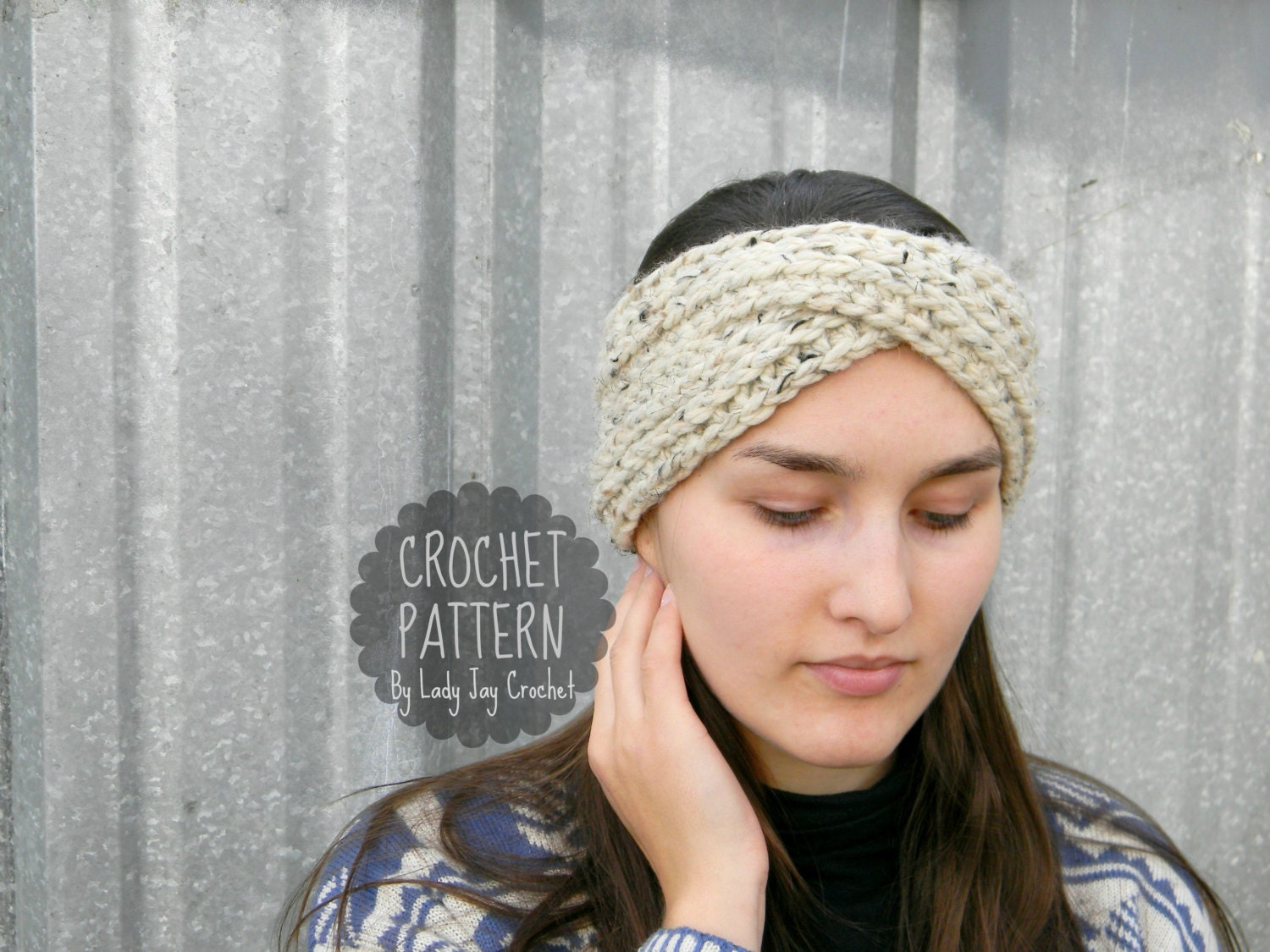 Fancy Crochet Chunky Headband Pattern Picture Collection - Sewing ...