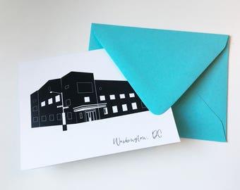 9:30 Club Greeting Card Washington DC A2