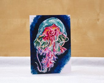 Frilly Jelly: Illustrated Greetings Card