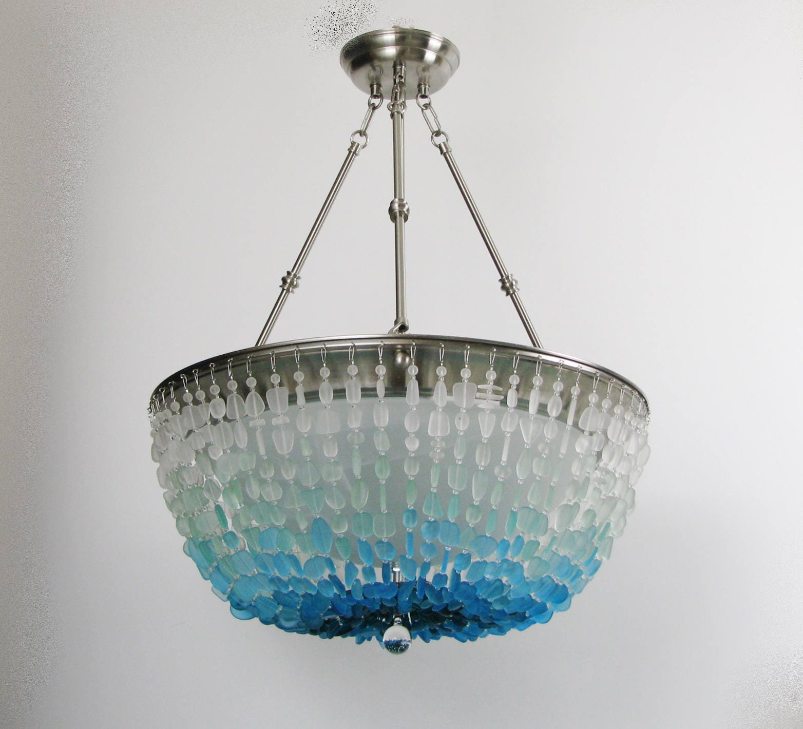 chandeliers wood french inspirational spaces chandelier glass small recycled stairwell light with pendant round retro for lights