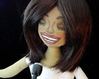 Whitney Houston Spirit Doll-OOAK Art Doll
