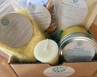Strength Self Care Kit Handmade Curated Meaningful Gift Box