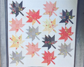 Maple Charm Mini Quilt PDF Pattern
