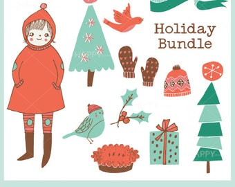 Holiday Bundle Set CLIP ART
