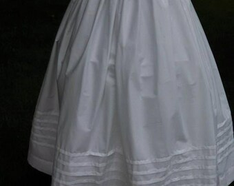 "Historical 180"" petticoat custom made"