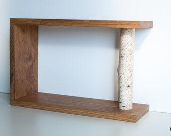 Wooden Shelf 57 x 38 x 20 Single