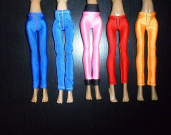 Tights, trousers, clothes for dolls, Monster High, Ever After High.