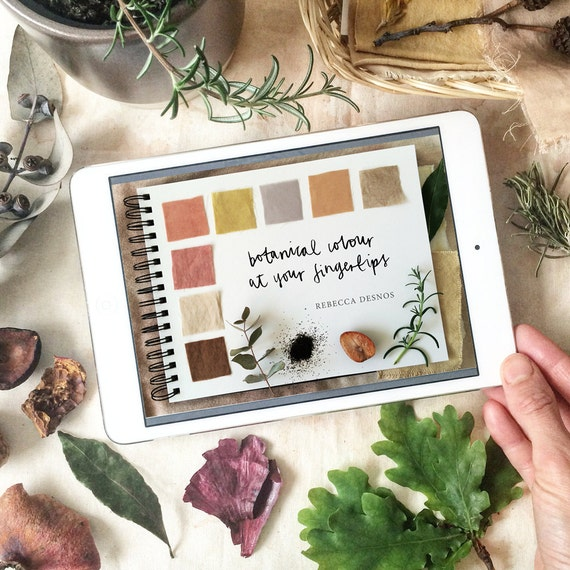 Ebook botanical colour at your fingertips plant fandeluxe Choice Image