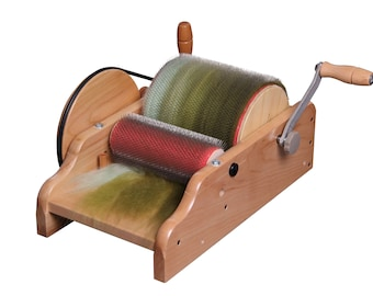 Ashford Drum Carder Coarse 36PPSI (Including packer and cleaning brushes)