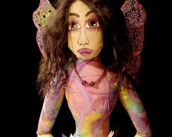 Fairy Doll-Skyler-Ooak-Art Doll  (Made to Order By Request)