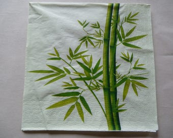 "napkin ""stalks of bamboo"""