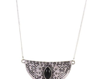Birdhouse Jewelry - Half Moon Gypsy Necklace