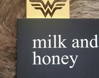 Wonderwoman lasercut bookmark (black)