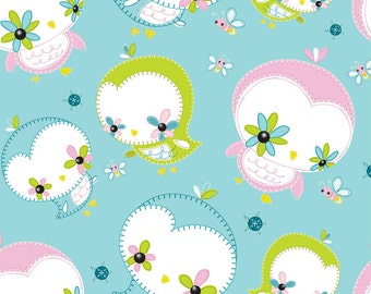 New Camelot fabrics, Owls by Heather Rosas, Dream a little Dream collection, Last 13 Inches