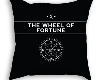 The Wheel of Fortune | Tarot Pillow