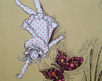 The Polka Dot Child, vintage children's book, 1964