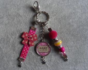DOOR keys / jewelry bag - Granny tearing