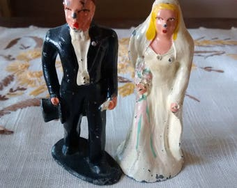 Bride and Groom Miniatures