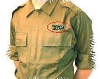 IDF ZAHAL patch for shirt Israel Israeli army logo support the Israeli army !