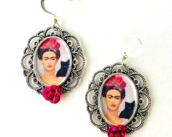 Frida & Cat Earrings