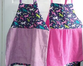 Baby Bathing Aprons for twins