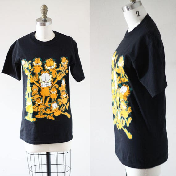 1990s vintage Garfield t-shirt // 1990s Garfield t-shirt // vintage t-shirt
