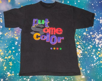 Put Some COLOR on Your CHEEKS T-Shirt Size L