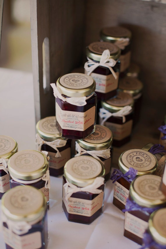 rustic wedding favors wedding favors 100 2oz jam jar