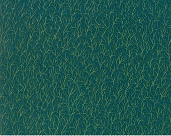 1/2 yd Silver Linings Basics Weeds by Laundry Basket Quilts for Moda Fabrics 42260 30