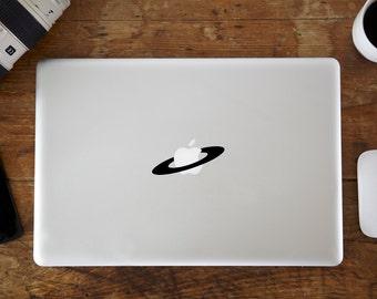 Saturn Ring MacBook Decal