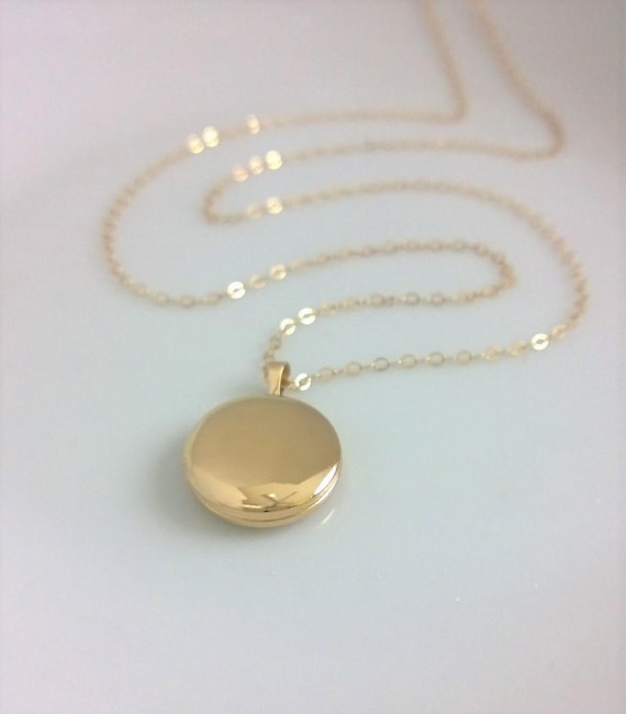 best gold early antique filled shop lockets necklace on locket products round blank wanelo