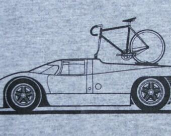 Bicycle T Shirt Bike with Porsche 917K