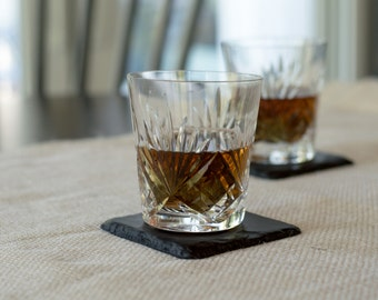 "Slate Coasters (Set of 4) 4"" x 4"""