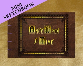 Henry's Once Upon A Time Storybook (inspired) - Mini Sketchbook - Made To Order