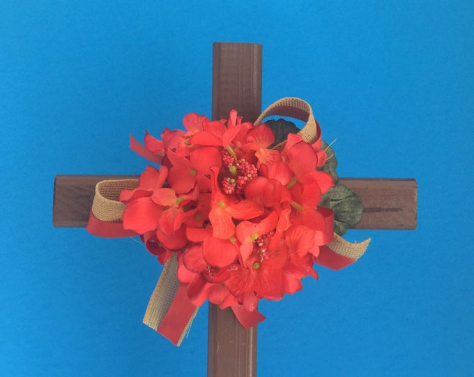 Cemetery cross, grave decoration, memorial cross, Floral Memorial, flowers for grave, cemetery flowers, memorial flowers
