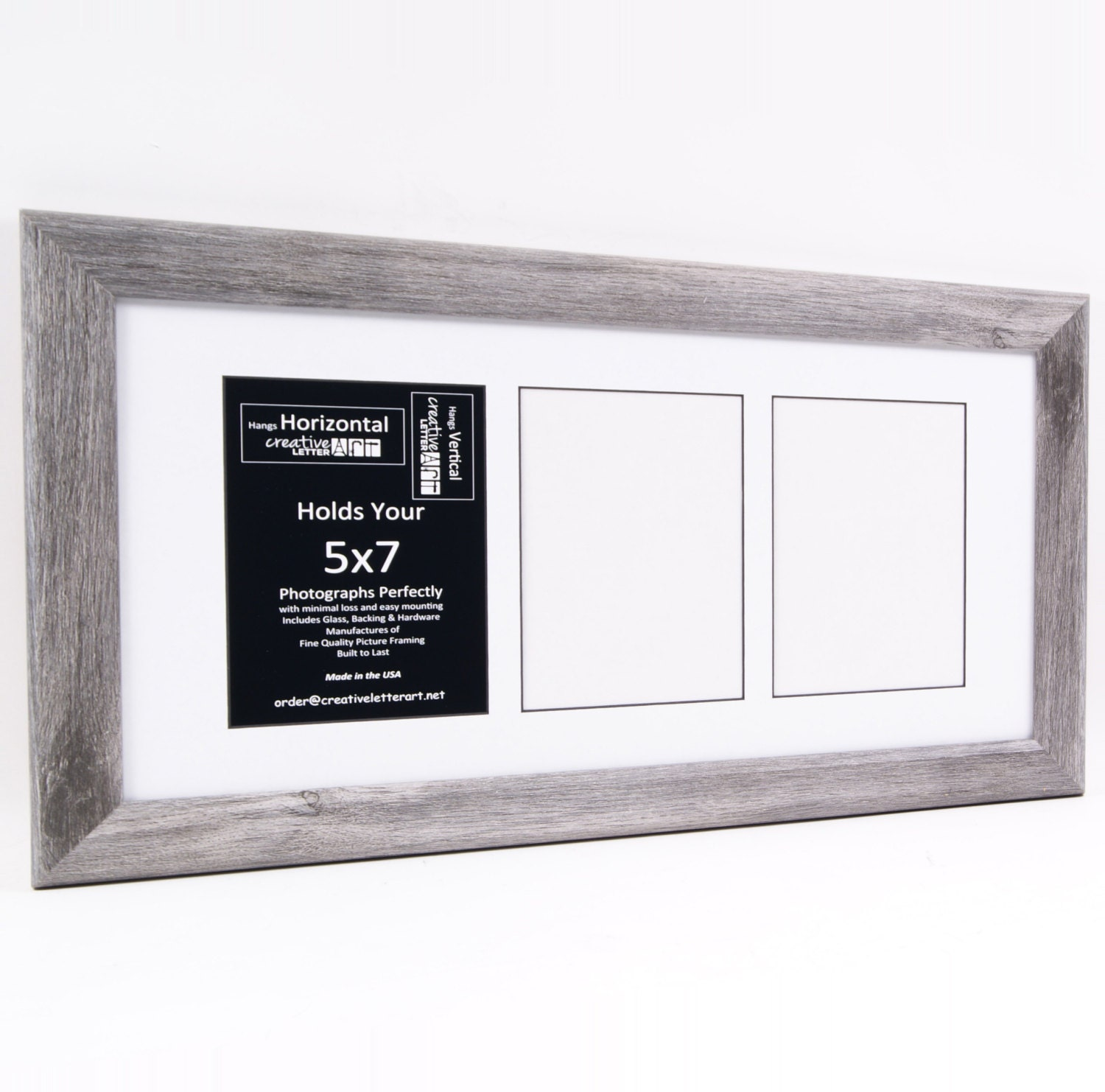 5x7 driftwood picture frames with multi 3 4 5 6 7 8 opening. Black Bedroom Furniture Sets. Home Design Ideas