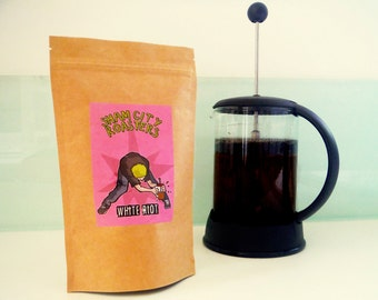 """Filter Coffee, Freshly Roasted - """"White Riot"""" Blend From Sham City Roasters, Specialist Craft Coffees Roasted In London"""