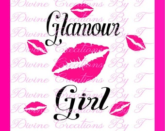 Glamour Girl SVG -On Clearance