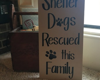 Shelter Dogs Rescued This Family