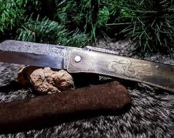 The Carnutian Crafters Knife  (Higo no Kami Style)