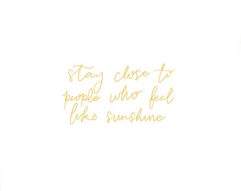 Sunshine People - Print