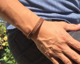 FREE SHIPPING-Men Bracelet,Men Leather Bracelet,Men Personalized Bracelet,Custom Leather Bracelet,Engraved Bracelet,Bracelets For Men