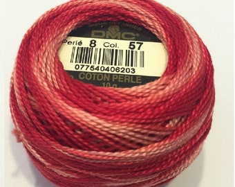 DMC 57 Perle Cotton Thread | Size 8 | Variegated Archives