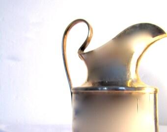 Milk jug (England), silver plated