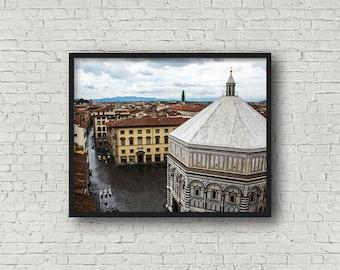 Florenz Street Print / Digital Download / Fine-Art Print / Kunst / Home Decor / Farbe Fotografie / Florenz Italien / Reise-Fotografie