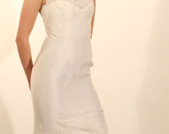 "Wedding Dress ""Sarli brides"" in silk organza size 40"